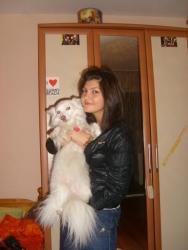 Тиса и дъщеря ми :)