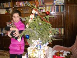Колко много подаръци има под елхата.
