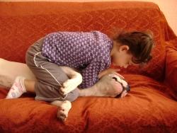 Обичам да ме гушкат :)
